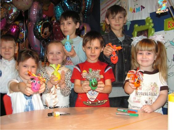 Занятие в детском саду по квиллингу